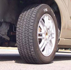 70% Inflated Tire - Can you tell the difference?